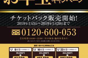 2019お年玉キャンペーンレッスンチケポスター1